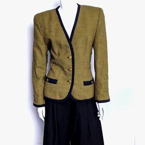 Vintage Alfred Sung wool blazer